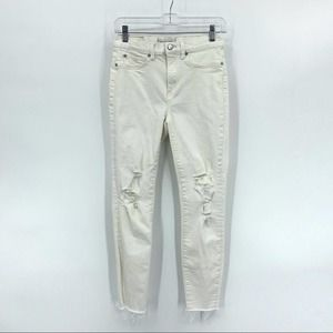 Henry & Belle High Waisted Skinny Ankle Jeans 28
